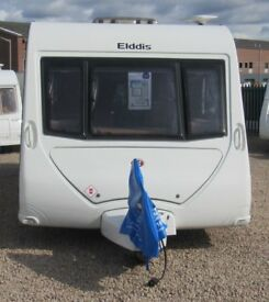 ELDDIS AVANTE 646 2010 *FIXED BUNK BEDS* 6 BERTH CARAVAN