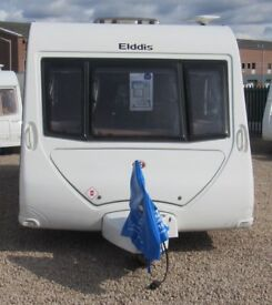 ELDDIS AVANTE 646 2010 *FIXED BUNK BEDS* 6 BERTH CARAVAN **REDUCED....WAS £10950**