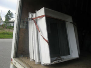 3 Brand New Triple Pane Vinyl Windows