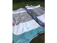 Trio porch awning fits most caravans