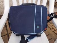 "Blue 15"" laptop bag"