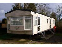 Haggerston Castle Luxury caravan for hire. GCH Double ensuite. Has bath!