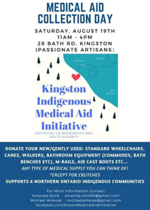 Medical supplies needed for northern Indigenous Communities!
