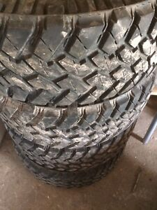 Used Nitto terra grappler mud tires
