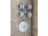 Weights Dumbells 74 KG