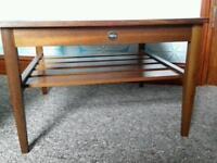 Myer retro low coffee table