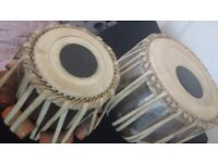 Baya and Daya tabla with covers