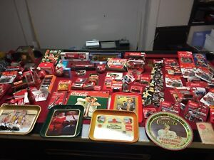 HUGE COLA COLA COLLECTION FOR SALE VINTAGE ITEMS AS WELL