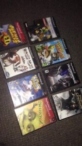 8 ps2 games for 20$. All together