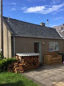Lossiemouth 1 bedroom holiday cottage for rent