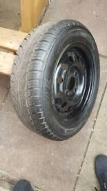 Spare wheel for ford ka