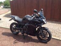 Yamaha XJ6F 600 CC Metallic Black