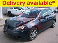 2010 Volkswagen Golf SE TDi S-A 1.6 DAMAGED REPAIRABLE SALVAGE