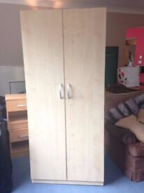 MOVING SALE: Wardrobes, Chest of Drawers, & Bedside Tables