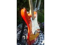 Electric Guitar Strat style as new condition