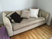 DFS 3 seater sofa / couch - good condition