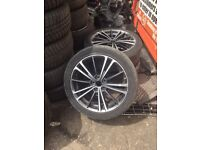 Original toyota GT86 alloy wheels and tyres prius