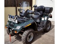 CAN-AM OUTLANDER MAX 800R EFI 2010 ROAD LEGAL PLG QUAD ATV