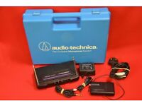 Audio-Technica ATW-R Receiver and ATW-T201 Transmitter with Case £25