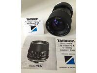 Tamron Adaptall-2 35-70mm F/3.5 lens Includes Nikon AE-1 Adapter