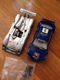 Scalextric cars