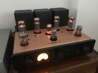 New Icon Audio Stereo 40 iii M integrated valve amplifier, 2017, unused, beautiful looks and sound