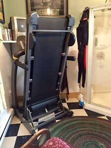 Sturdy gym quality LiveStrong Spacesaver Treadmill