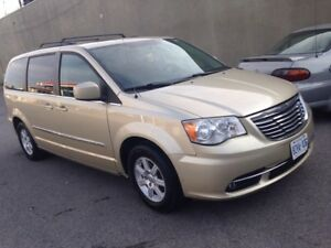2011 Chrysler Town & Country Touring-STOW N GO-DUAL DVD