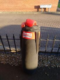 Lonsdale punch bag and mitts