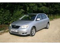 Toyota Corolla 1.6 T-SPIRIT done 115687 Mile with SERVICE HISTORY and NEW MOT
