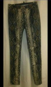 New Vero Moda snake print skinny jeans