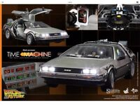 Hot Toys 1/6 delorean from back to the future