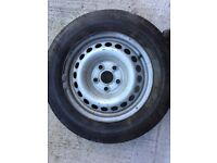 VW T5 Wheels and tyres 4