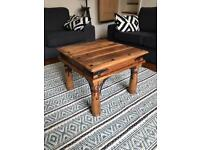 Lovely Sheesham Oak wood coffee table