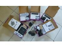 BT Synergy 2110 Dect Base unit and Four Additional Handsets, plus spare charger