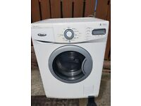 White whrilpool washing machine 8kg