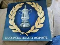 FA çup 1972 centenary souvenir medal collection