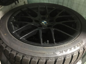 """BMW 18"""" winter tires & rims package deal only."""