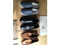 3 pairs off boys shoes
