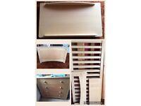 John Lewis/Kerry O'Brien Sophia Nursery Furniture Set in Beech Veneer