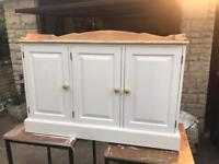 Solid pine sideboard/cupboard/chest