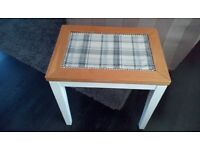 """Table, oak/cotton tail white.""""""""Beautiful one off design"""""""