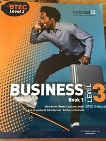 BTEC Level 3 Business books