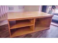 AMAZINGLY CHEAP SOLID WOOD TV UNIT STAND!!! ALMOST BRAND NEW!!!