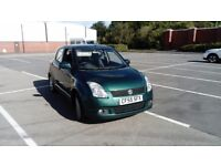 2006 SUZUKI SWIFT 1.3 DIESEL MOT FEB FAB DRIVER LOW RUNNING COSTS FIRST TO SEE WILL BUY £895