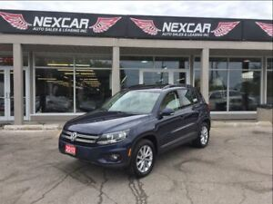 2013 Volkswagen Tiguan 2.0L TSI COMFORTLINE AWD LEATHER PANO/ROO
