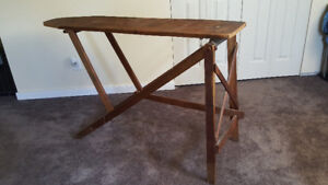 1950's Wood Ironing Board