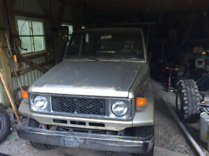 PARTING OUT 1985 Toyota Land Cruiser BJ70