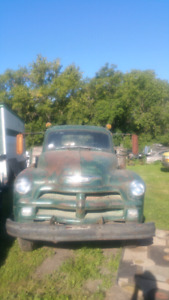 1954 Chevrolet ton and half w/ hoist runs goog
