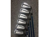 Cleveland Golf clubs, spider putter and Taylor made bag